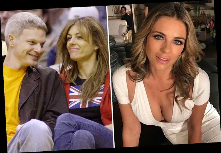 Elizabeth Hurley says she healed the rift with her son Damian's dad Steve Bing just months before his suicide