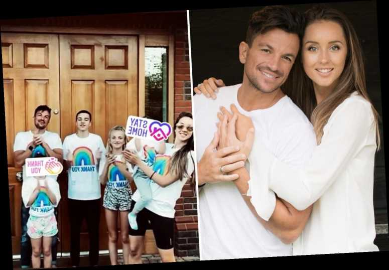 Peter Andre reveals wife Emily only lets their kids eat sweets on Halloween as she's 'so big on healthy eating'