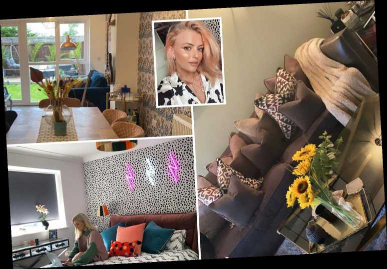 Coronation Street's Lucy Fallon shows off incredibly tidy Blackpool home with egg chairs in the garden and quirky decor
