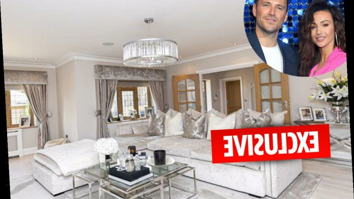 Michelle Keegan and Mark Wright put five bedroom Essex mansion up for sale with huge chandeliers and landscaped gardens