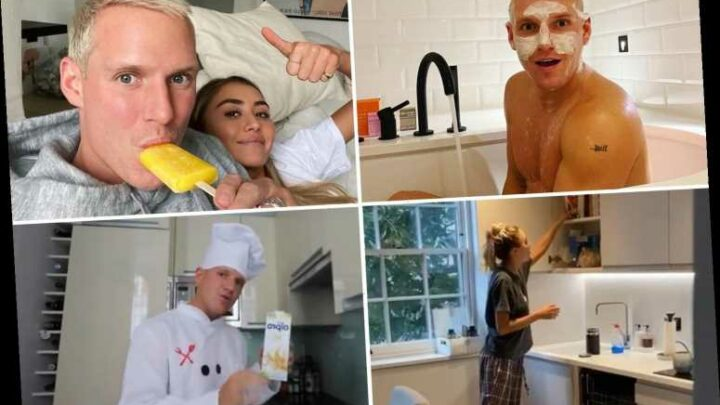 Inside Strictly star Jamie Laing's gorgeous all-white Chelsea flat he shares with girlfriend Sophie Habboo