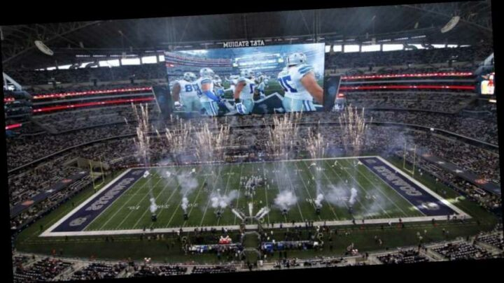Dallas Cowboys Will Have A 25 Percent Capacity For Sunday's Game Against Atlanta Falcons