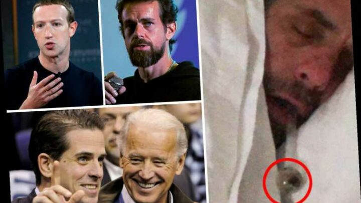 Joe Biden and Hunter Biden 'crack, sex and Ukraine' email scoop from New York Post 'CENSORED' by Facebook and Twitter