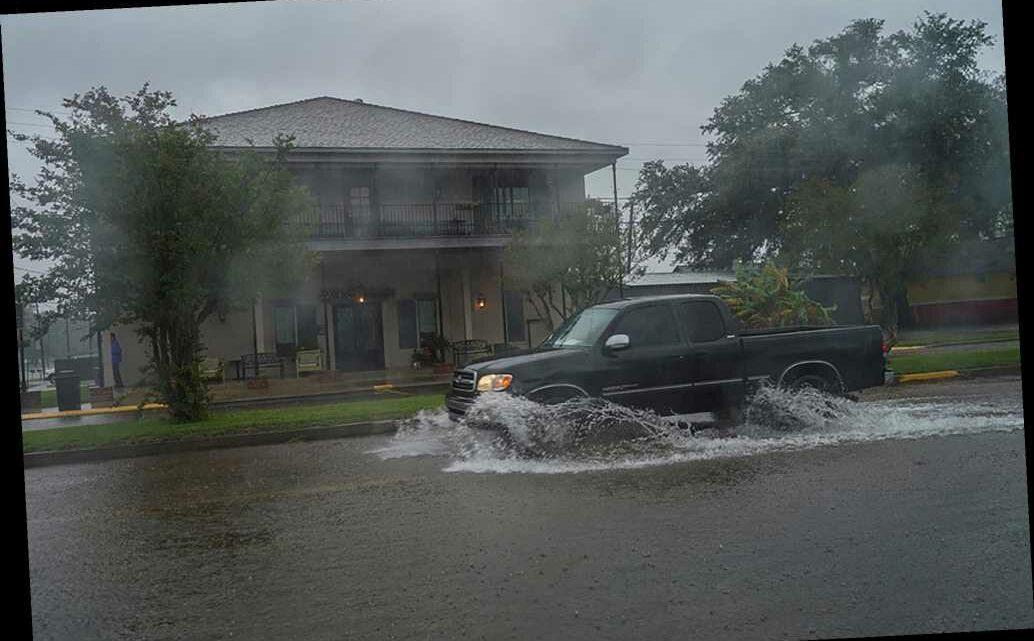 Hurricane Delta makes landfall in Louisiana