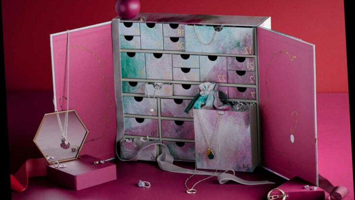 John Lewis launches FIRST Jewellery Advent Calendar and it's the ultimate gift this Christmas