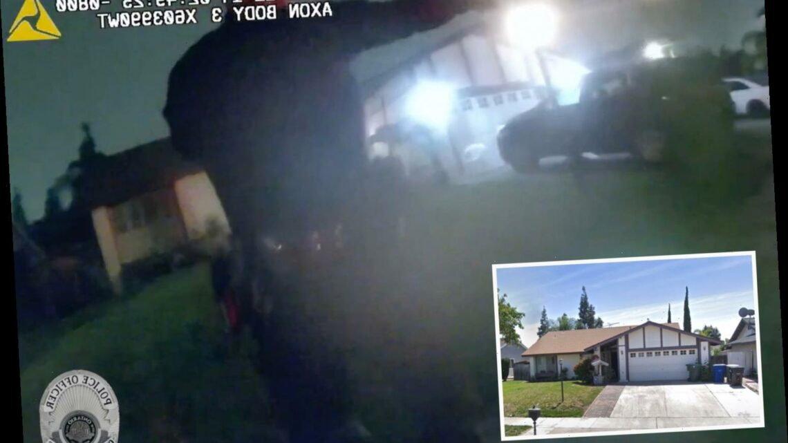 Unseen bodycam footage shows female probation shooting at husband before killing their kids and herself after standoff