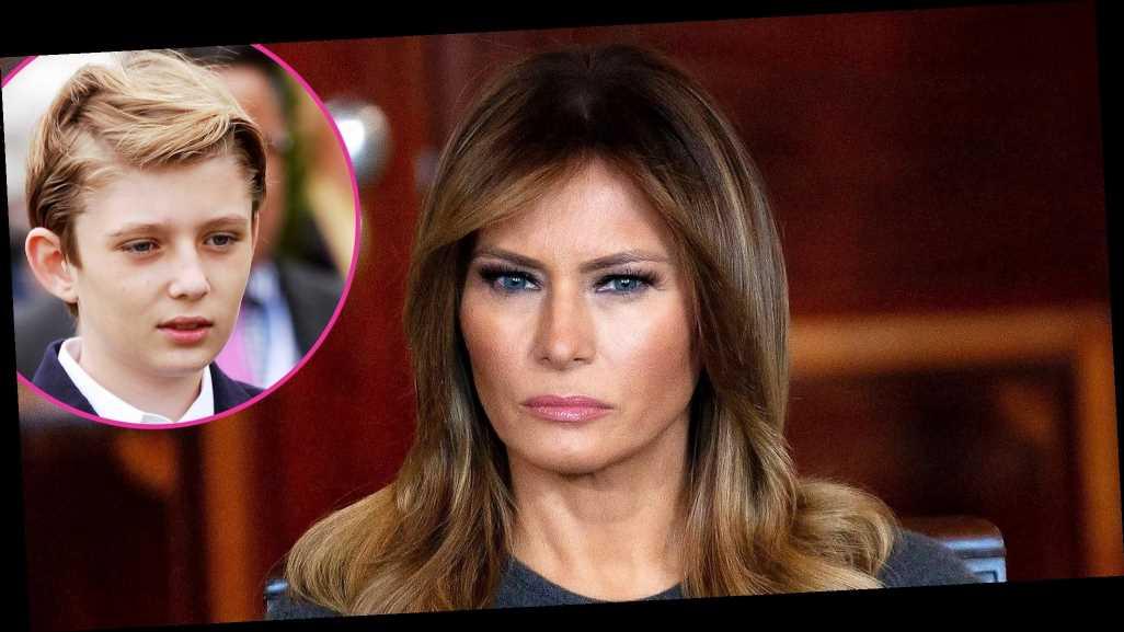 Melania Trump Reveals Son Barron Trump Also Tested Positive for COVID-19