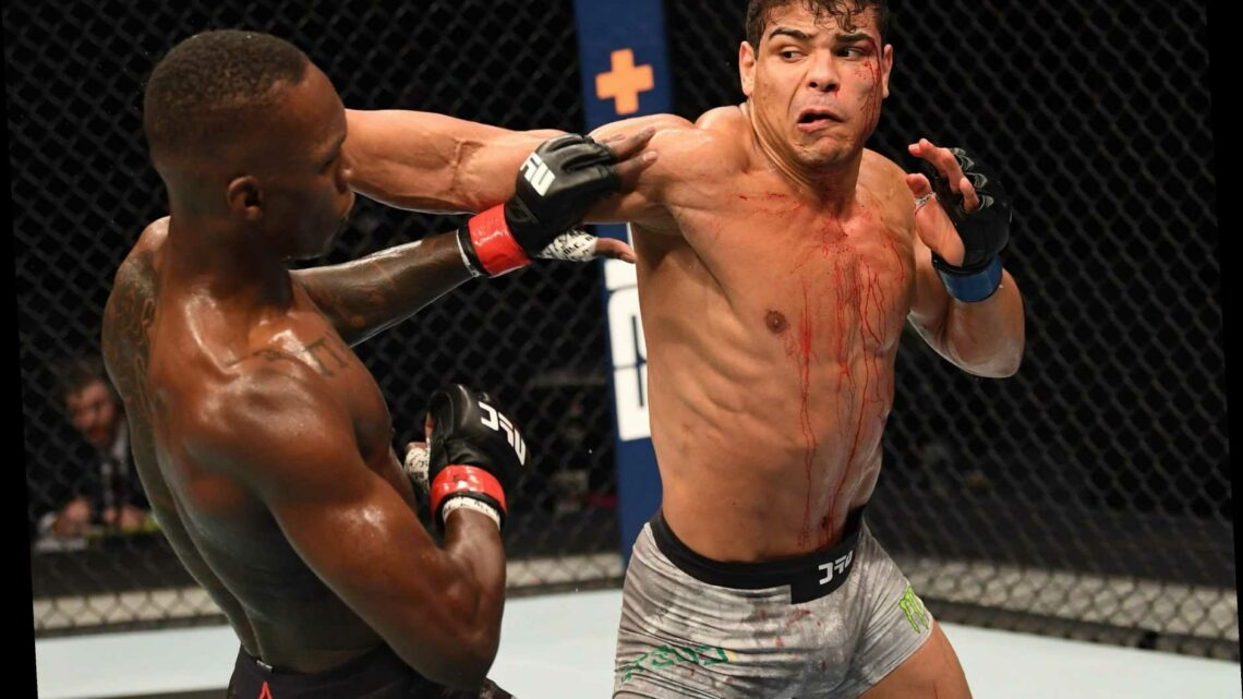 Paulo Costa claims he was injured pre-fight against Israel Adesanya as UFC rival laughs off excuse after brutal beating