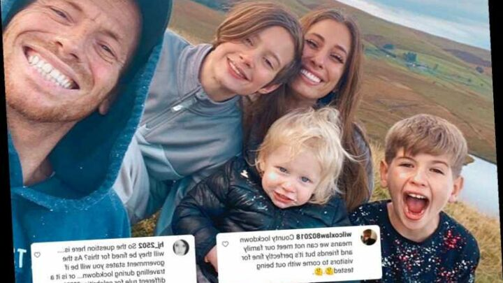 Stacey Solomon and Joe Swash slammed by furious Welsh locals for 'flouting strict lockdown rules' with birthday trip