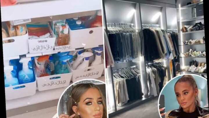 Move over Stacey Solomon, Molly Mae & Georgia Steel among the new organisational queens sharing thrifty home tips