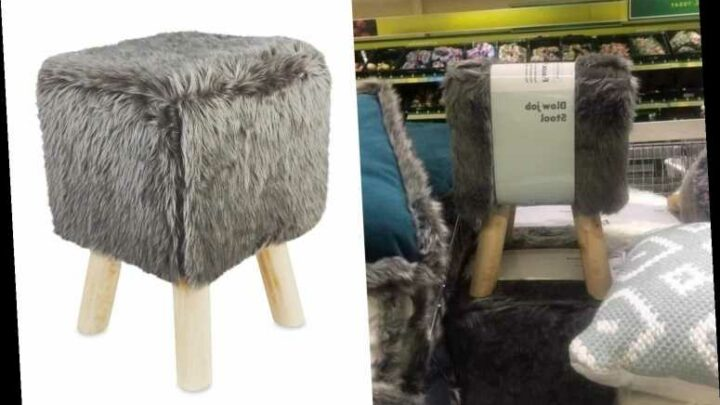 Aldi shoppers in hysterics after spotting a footstool with a very rude name