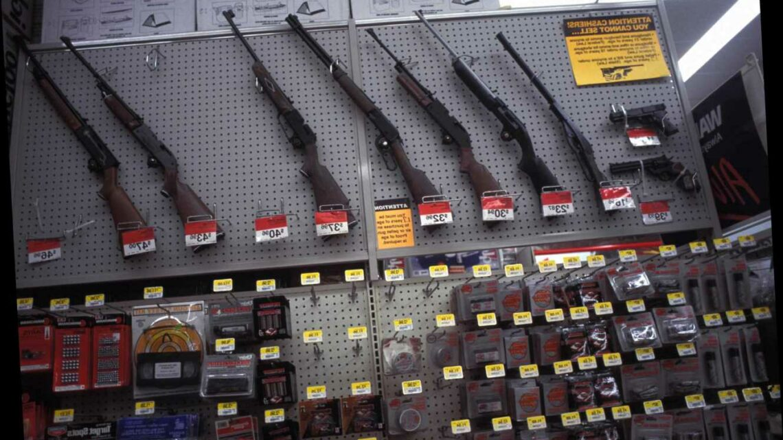 Walmart REVERSES demand to strip guns from shelves a day after ordering their removal over election 'civil unrest' fears