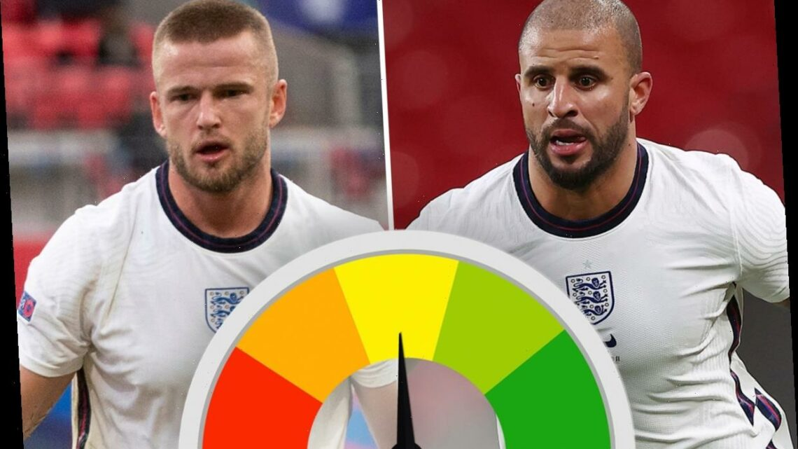 Kyle Walker shines as Eric Dier has evening to forget during Three Lions' 2-1 Nations League win over Belgium at Wembley