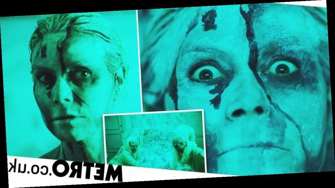 Heidi Klum's 2020 Halloween costume? A full family horror movie