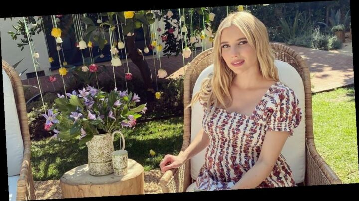 Pregnant Emma Roberts Celebrates 'Magical Garden' Baby Shower: Pics
