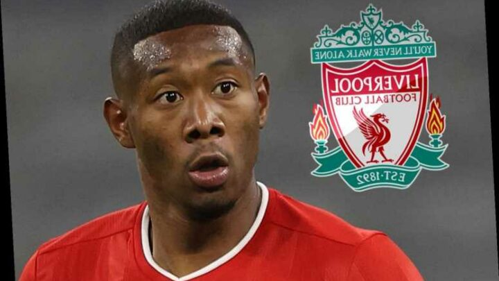 Liverpool transfer boost as David Alaba's 'contract talks with Bayern Munich collapse and could move in January'