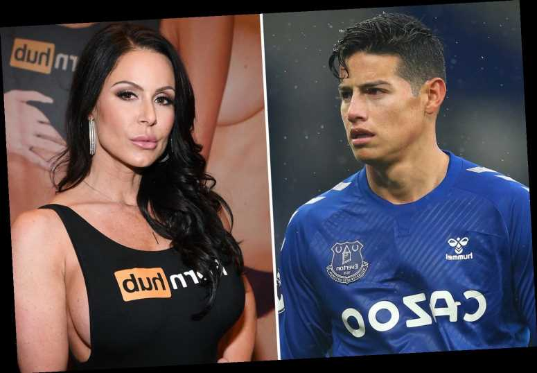 Porn star Kendra Lust wishes Everton's James Rodriguez well after Colombian suffered testicle injury