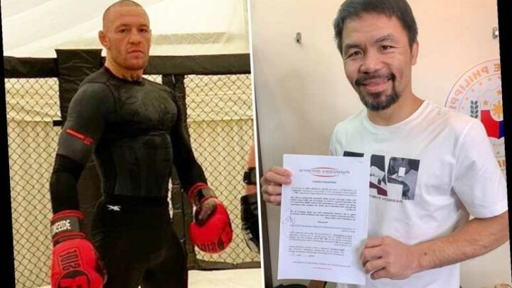 Conor McGregor vs Manny Pacquiao getting closer as boxing legend signs for UFC icon's management company