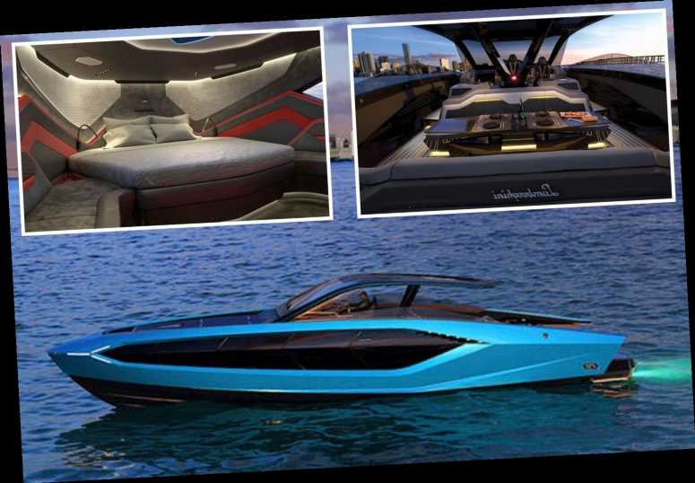 Inside Conor McGregor's bespoke luxury Lamborghini yacht dubbed 'Supercar of the Sea' with just 63 made in world