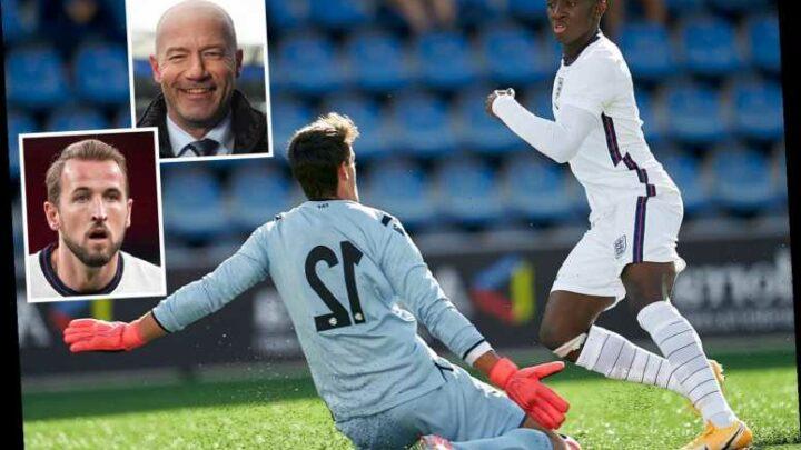 Arsenal hotshot Eddie Nketiah can emulate England legends Harry Kane and Alan Shearer, claims Boothroyd