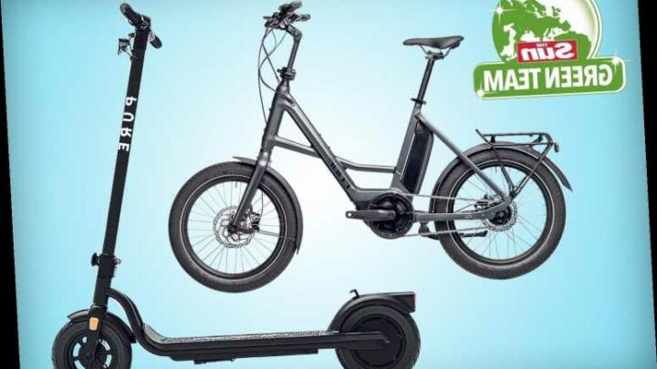 Win a planet-friendly electric bike or scooter with The Sun's Green Team