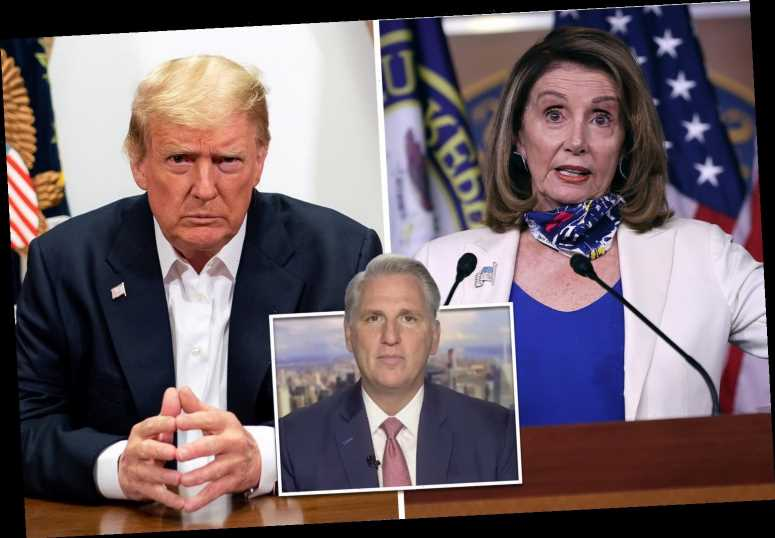 'Disgusting' Nancy Pelosi slammed for 'unbecoming reaction' to Donald Trump's COVID fight
