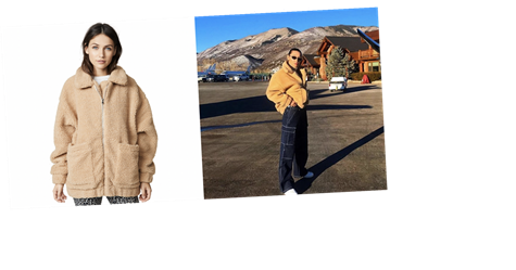Bella Hadid and Selena Gomez's Favorite I.AM.GIA Teddy Coat Is 15 Percent Off for Prime Day