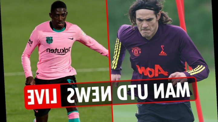 8.30pm Man Utd news LIVE: Dembele transfer was 'AGREED', Jones OUT of Premier League squad, Luis Gomes £14m switch – The Sun