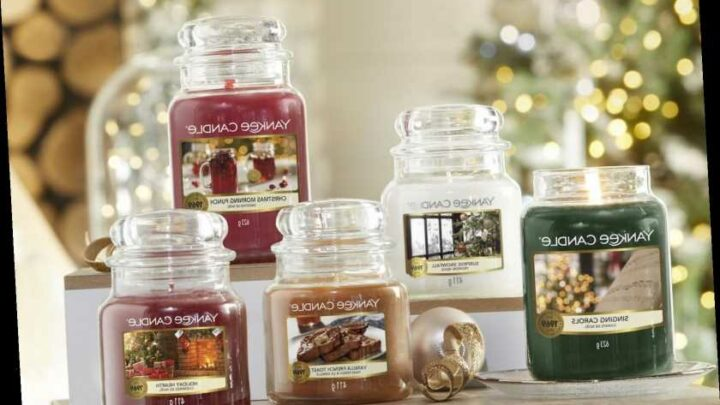 Yankee Candle has released its Christmas collection including scents such as Singing Carols and Holiday Morning