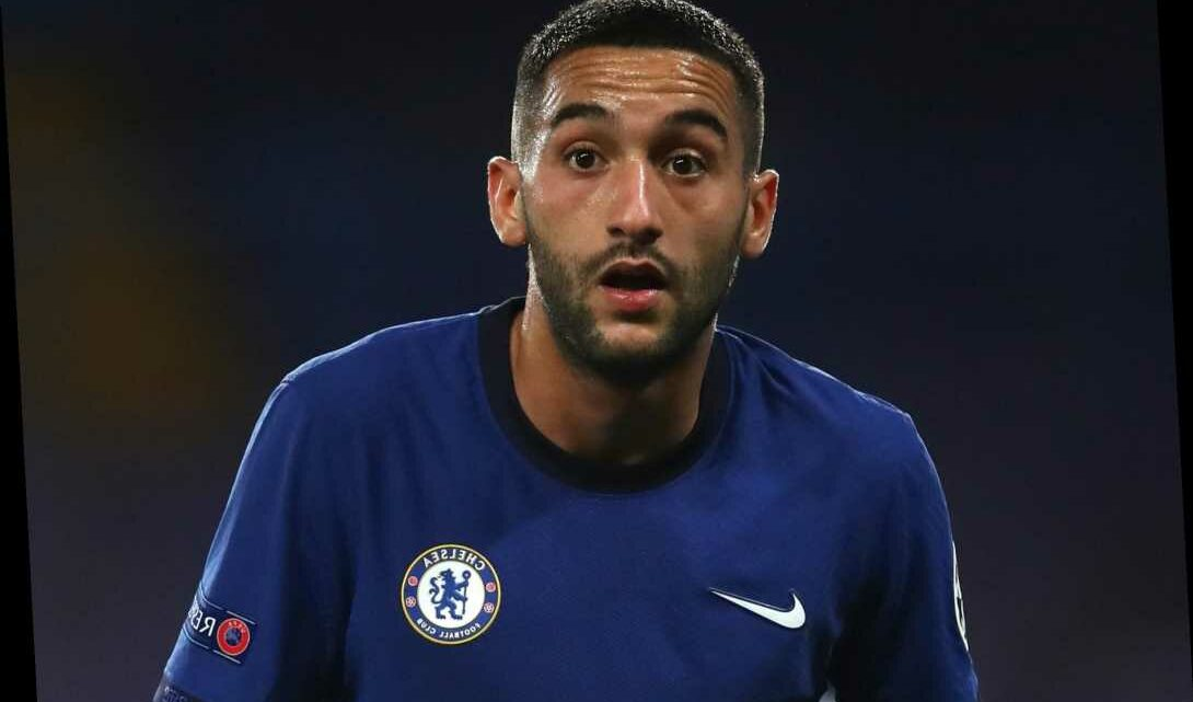 Lampard says Ziyech not match fit and admits it has been 'difficult' to integrate Chelsea ace due to coronavirus bubble