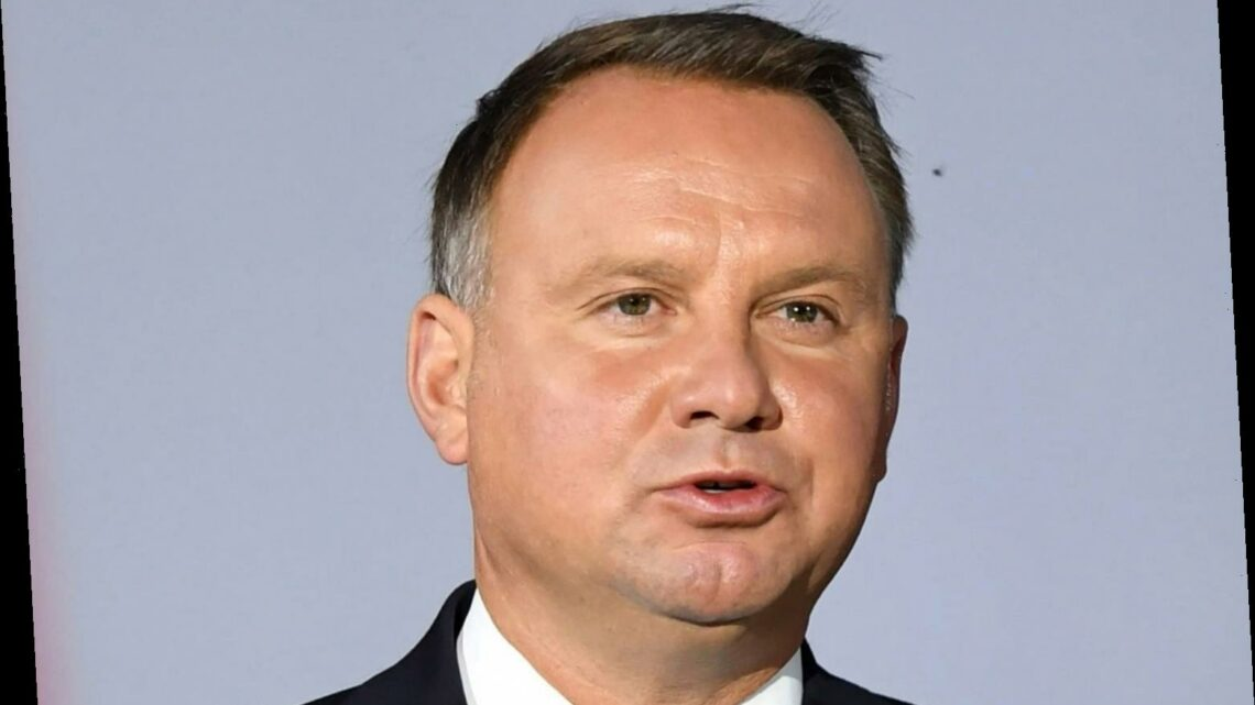 Polish President Andrzej Duda apologises after testing positive for coronavirus