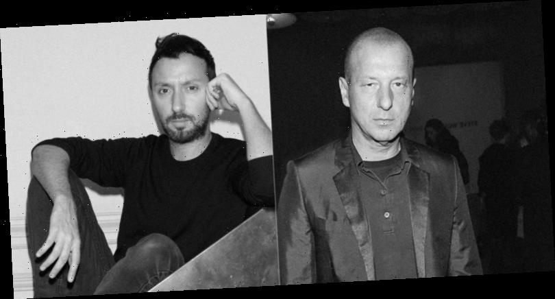 Anthony Vaccarello Was 'Seduced' by Helmut Lang's Art