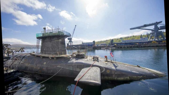Crew on UK nuclear submarine gets coronavirus after partying off US base