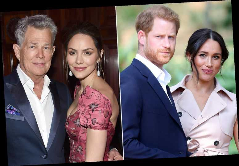 Meghan Markle and Prince Harry Double Date with Katharine McPhee and David Foster in Montecito