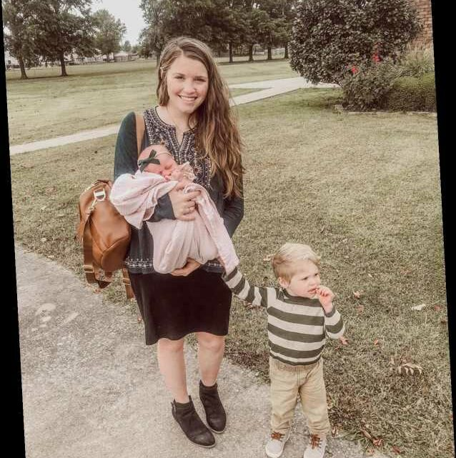Joy-Anna Duggar Responds After Fan Shared 'Concern' About How She Held Newborn Daughter: 'I Wasn't About to Drop Her'