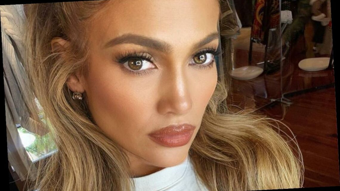 Jennifer Lopez with a pixie cut has to be seen to be believed