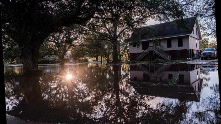 Hurricane Delta drops a foot and a half of rain on southwest Louisiana