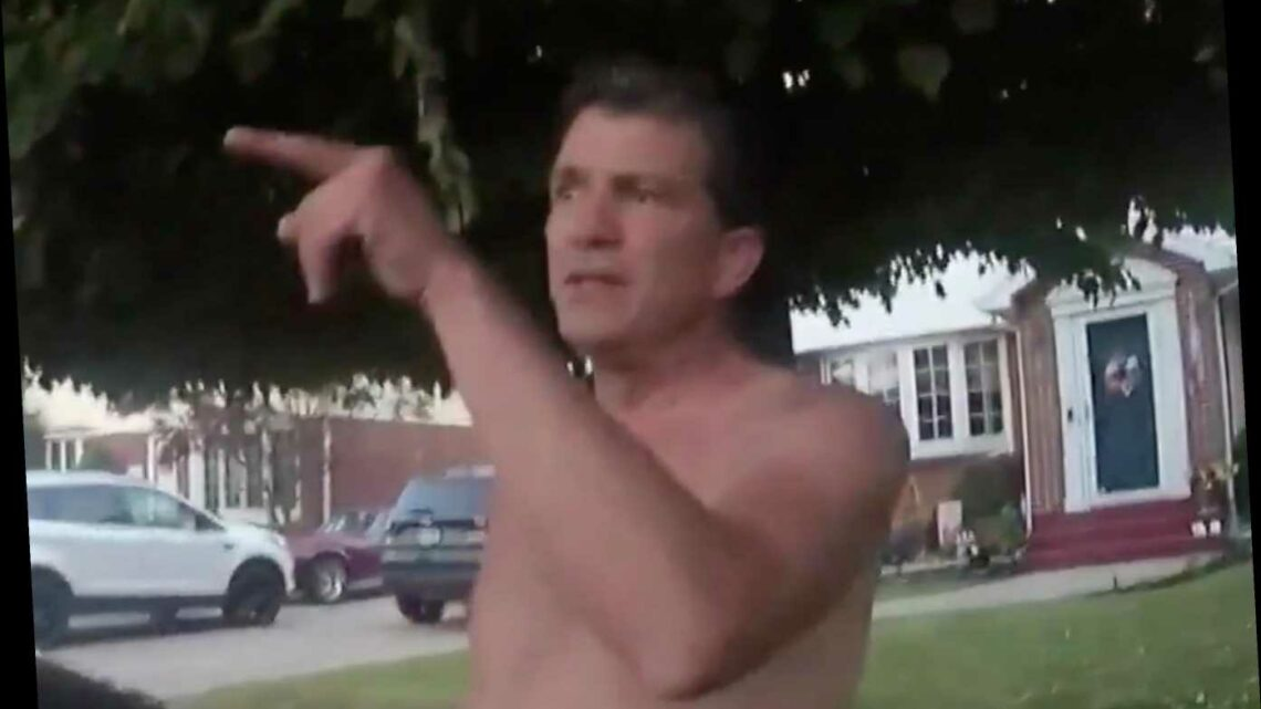 Video shows shirtless New York Supreme Court judge shove cop during July altercation