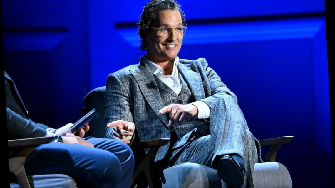 Matthew McConaughey Reveals How Floating the Amazon River for 22 Days Helped Him Accept Celebrity Status