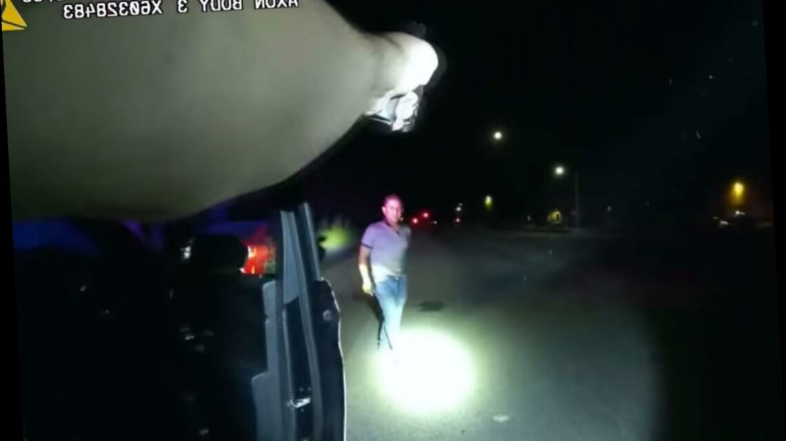 California sergeant fatally shot drunk man who refused to show hands: video