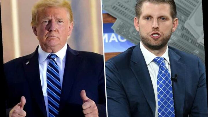 THE 'SAVIOR' Eric Trump shockingly says his father 'SAVED Christianity' from 'atheist and far-left Democrats'