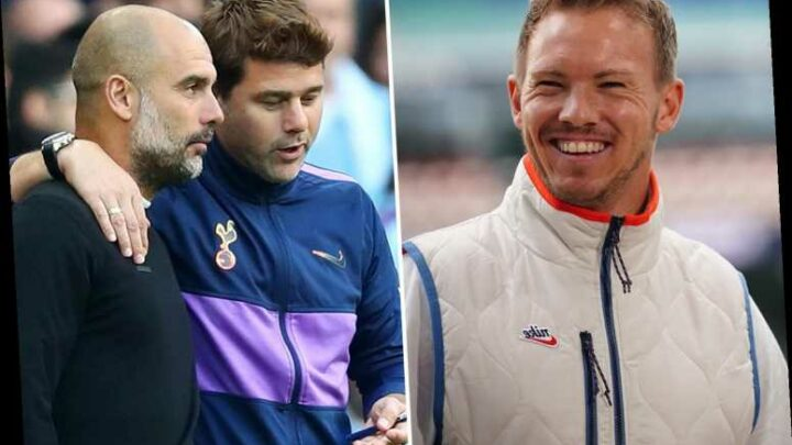 Man City eye RB Leipzig boss Julian Nagelsmann or Mauricio Pochettino as Pep Guardiola's replacement as deal runs down