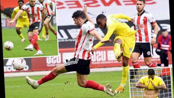 Sheff Utd 1 Fulham 1: Mitrovic misses penalty, concedes one after controversial VAR call and misses amazing chance