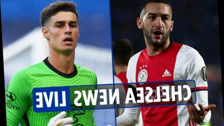 4.20pm Chelsea news LIVE: Ziyech set for debut, Mendy OUT with Kepa set to feature, Jorginho new deal, Donnarumma linked – The Sun