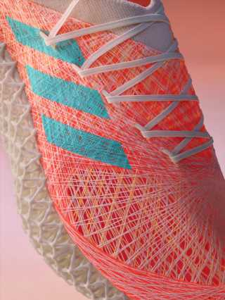 Adidas Creates New Textile for Strung Prototype Running Shoe