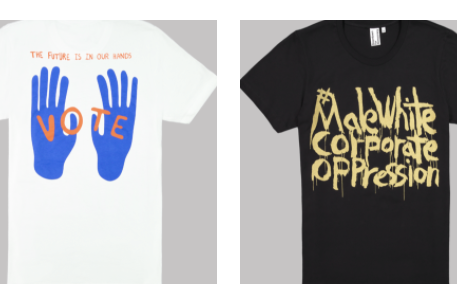 Popular Artists Design Downtown for Democracy Ts