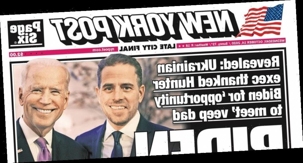 Insiders at the NY Post are griping about the Hunter Biden coverage, highlighting a political divide in the tabloid newsroom