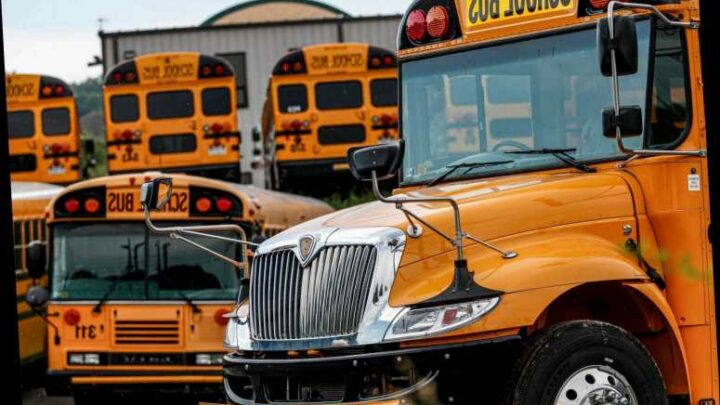 Boy steals school bus, leads police on street chase before crashing