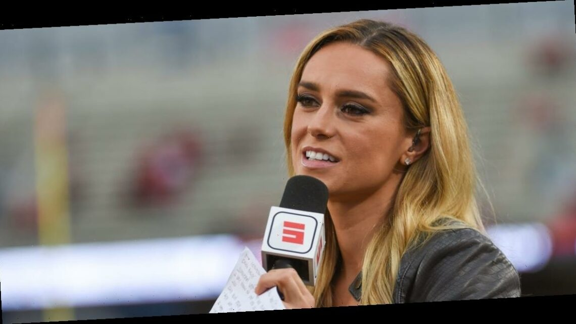 A pregnant ESPN reporter clapped back after she was body shamed: 'I am making a human life!'