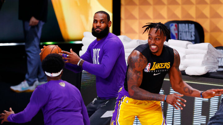 LeBron James's Teammates Beat Him, Then Joined Him
